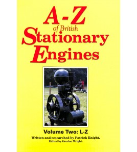 A-Z of British Stationary Engines Volume Two Voorkant