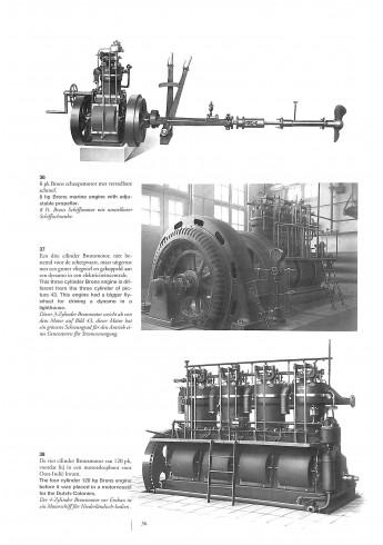Patent Brons, honderd jaar verstuiverbak motoren Voorkant