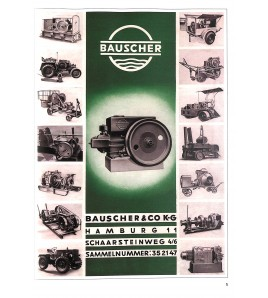Deutsche Stationar-Motoren Prospekte I Voorkant