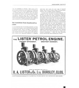 Lister Engines Types H to R Voorkant