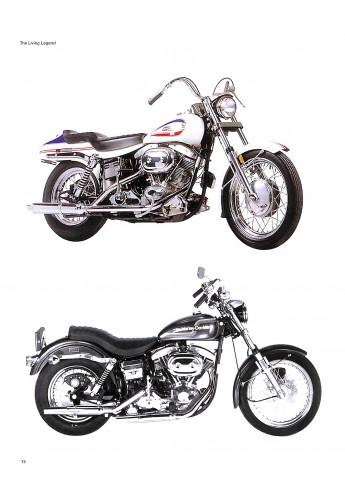 Harley Davidson Die lebende Legende Voorkant