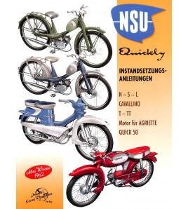 NSU Quickly Instandsetzungs-Anleitungen Voorkant