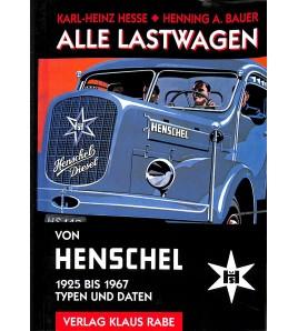 Alle Lastwagen von Henschel 1925-1967 Typen und Daten Voorkant