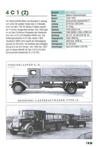 Typenkompass Henschel Lastwagen 1925-1974 Voorkant