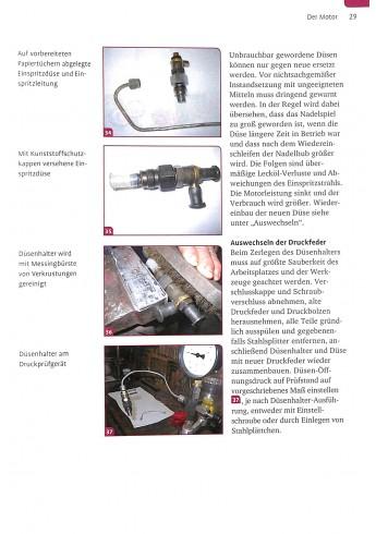 Porsche-Traktoren restaurieren und reparieren Voorkant