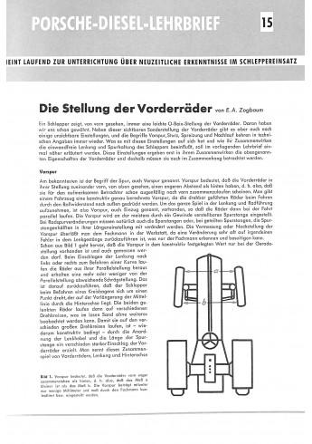 Porsche Diesel Lehrbriefe 1-30
