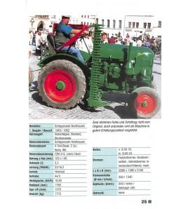 DDR-Traktoren und Landmaschinen - 1945-1990 Voorkant
