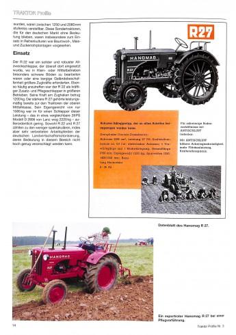 Hanomag, Profile 3 , Die kleinen und mittelschweren modellen Voorkant