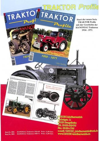 Traktor Profile nr 2 Hanomag 1950-1971