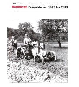 Hürlimann Prospekte von 1929 bis 1983 Voorkant