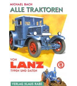Lanz, Alle Traktoren ,Typen und daten Voorkant
