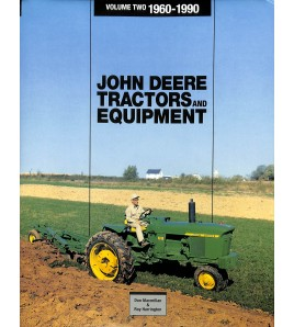 John Deere Tractors and Equipment 1960-1990 Voorkant