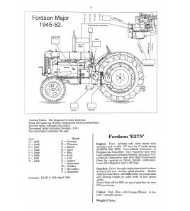 Fordson Major Model E27N 1945-1952 Voorkant