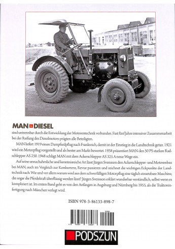 MAN & Diesel: 100 Jahre Motorkraft für die Landwirtschaft, Band 1: Augsburg-Nürnberg