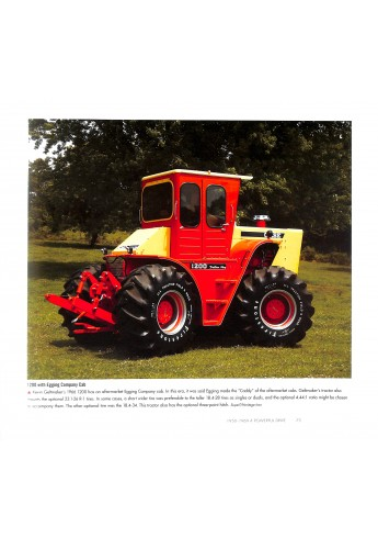 Red 4WD Tractors 1957-2017
