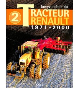 renault Tracteurs -  Tome 2 - 1971/2000 Voorkant