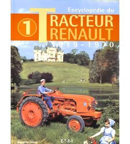 renault Tracteurs  - Tome 1 - 1919/1970 Voorkant
