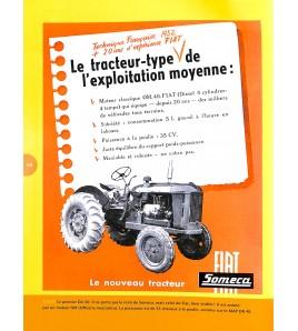 Tracteurs agricoles Someca - une histoire en prospectus Voorkant