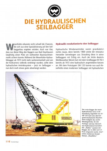 Weserhütte Bagger