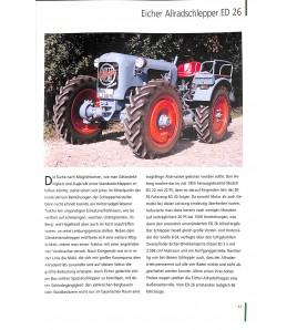 Die schönsten Traktor Klassiker  - Technik Ikonen der Nachkriegzeit
