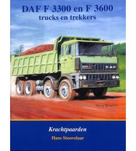 DAF F 3300 en F 3600 truck en trekkers - Krachtpaarden