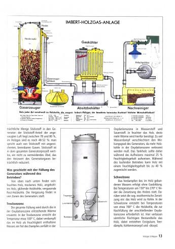 Holzgas schlepper Voorkant