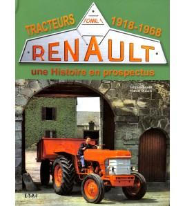 Renault Tracteurs - Tome1-1918-1968 Voorkant