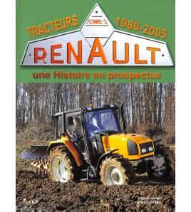 Renault Tracteurs - Tome3-1989-2005 Voorkant