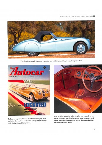 Jaguar XK The 6-Cylinder Cars, 1948-1970