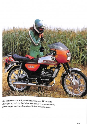 Zündapp - Modellgeschichte 1952 - 1984