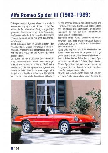 Alfa Romeo - Alle Modelle seit 1945