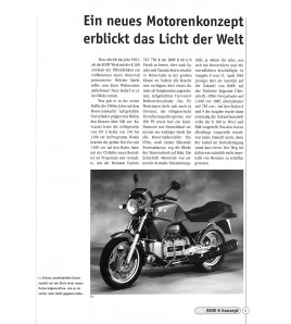 """BMW K-Modelle """"Der fliegende Ziegelstein"""""""