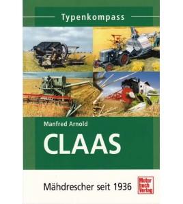 Claas Typenkompass Mahdrescher seit 1936 Voorkant