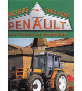 Renault Tracteurs - Tome2-1969-1988 Voorkant