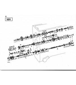 Ersatzteilliste Deutz-Dieselschlepper D5505
