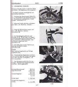 Werkstatthandbuch für Deutz-Dieselschlepper D9006
