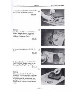 Werkstatthandbuch Porsche-Diesel, Deutz-Getriebe Typ T25, Regelhydraulik voor de Porsche Diesel 238-219-329-339