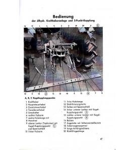 Bedienungsanleitung Deutz-Diesel-Schlepper D25