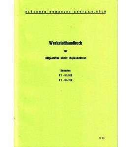 Werkstatthandbuch für luftgekühlte Deutz Dieselmotoren Voorkant