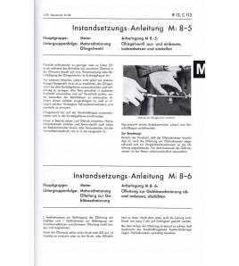 Instandsetzungs-Anleitung Hanomag-Schlepper R12/C112