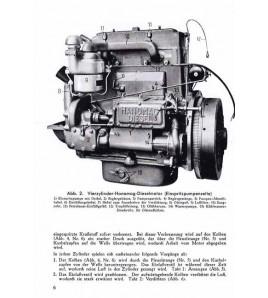 Handbuch für den 4-zylinder Hanomag diesel-motor