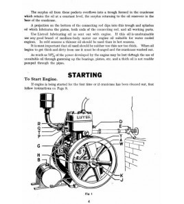 Lister Petrol Engines Type L