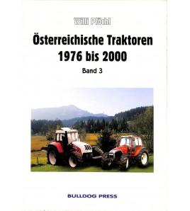 Österreichische Traktoren 1976 bis 2000 Band 3 Voorkant