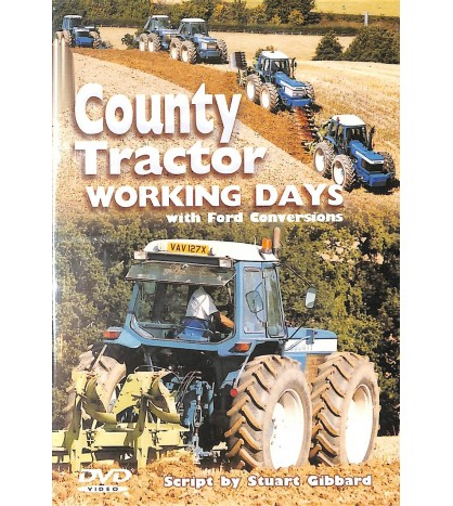 County Tractor Working Days with Ford Conversions