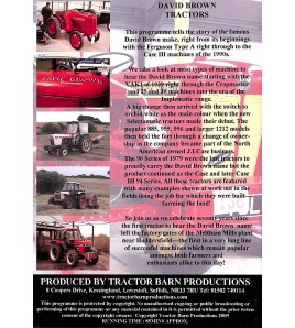 David Brown Tractors: a power on the land 1939-1988