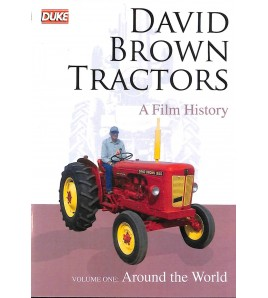 David Brown Tracotrs - A Film History 3 DVD Box