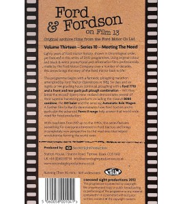 Ford & Fordson On Film Vol. 13 - Series 10 - Meeting The Need