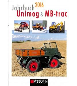 Jahrbuch Unimog & MB - trac 2016 Voorkant