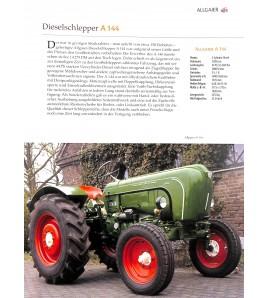 Traktoren Das A-Z der modellreichen Schleppergeschichte Voorkant