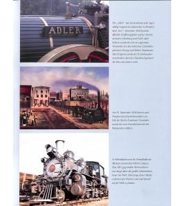 Dampf Lokomotiven Voorkant